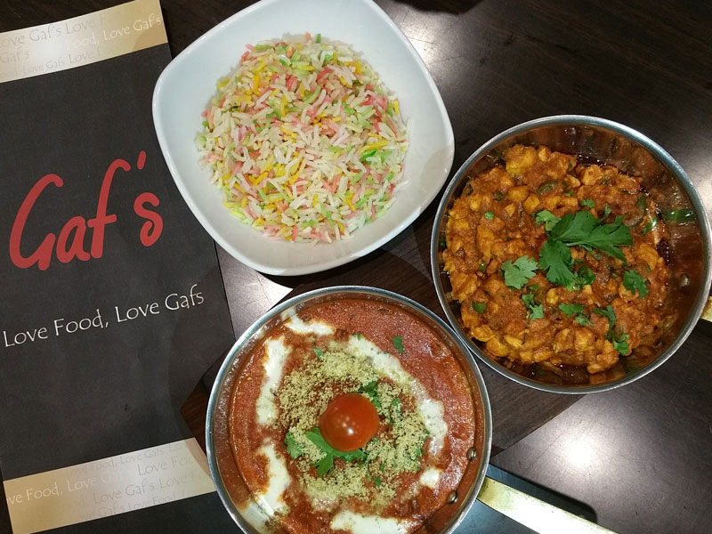 Gaf's Special Curries